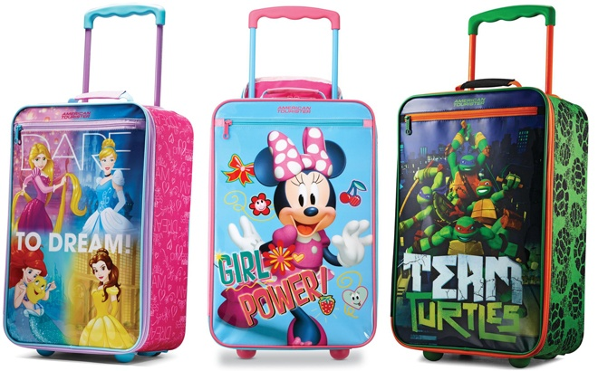 Disney Luggage Starting at JUST $20 (Disney Princess, Frozen, Ninja Turtles) - Today Only!