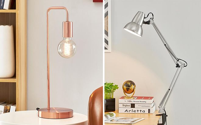 Light Society Desk Lamps Starting From ONLY $17.51 at Home Depot - Don't Miss Out!