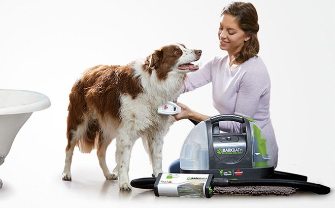 Bissell Barkbath QT Portable Dog Bath for ONLY $69.99 + FREE Shipping (Reg $180)