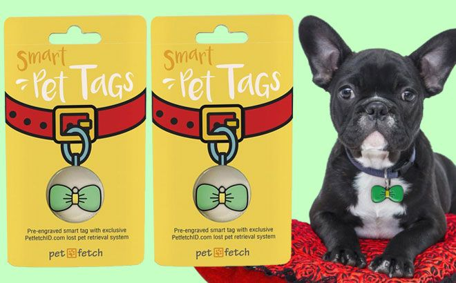 FREE PetfetchID (Smart ID Tag) For Pets – $25 Value!