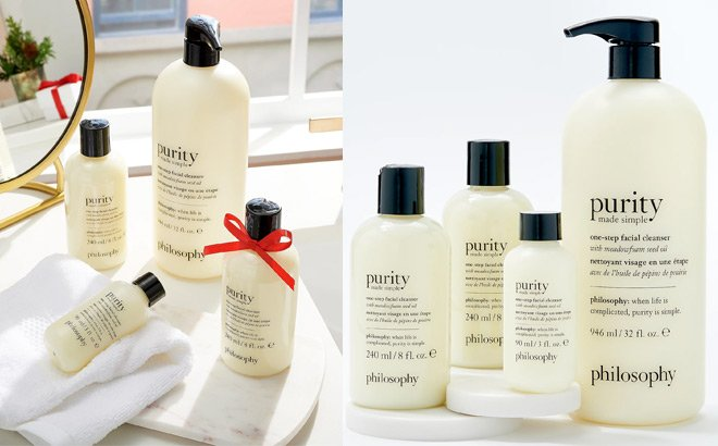Philosophy Purity Facial Cleanser Collection JUST $64 ($120 Value) + FREE Shipping