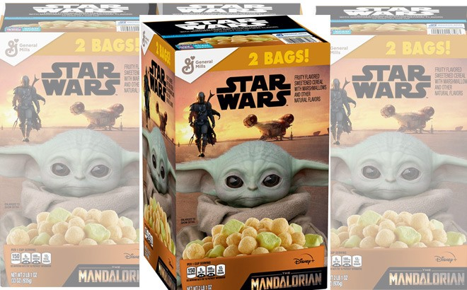 Star Wars The Mandalorian Cereal Twin Pack for ONLY $5.98 at Sam's Club