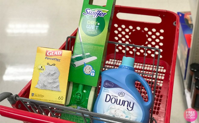 Swiffer, Glad, & Downy for ONLY $5.66 Each at Target (Regularly $12)
