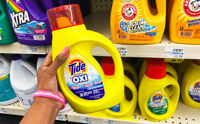 Tide Simply Laundry Detergent for ONLY 94¢ at CVS (Regularly $6.29)