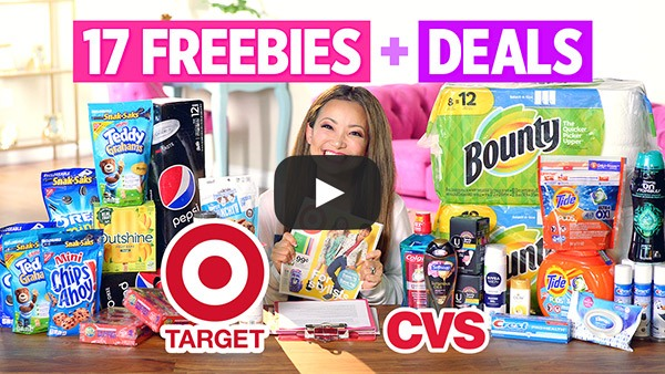 VIDEO: 17 FREEBIES & Deals at Target and CVS This Week (7/21 – 7/27)