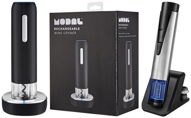 Modal Rechargeable Wine Openers Starting at JUST $9.99 (Reg $20) - Today Only!