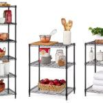 6-Shelf-Wire-Shelving-Convertible-Rack