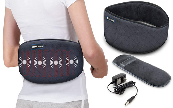 Comfier Heating Belly Wrap Belt for Back Pain ONLY $31.96 + FREE Shipping (Regularly $78)
