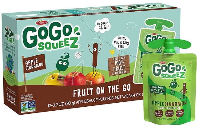 GoGo SqueeZ Applesauce Pouches 12-Pack for ONLY $5.11 at Amazon - That's 43¢ Each!