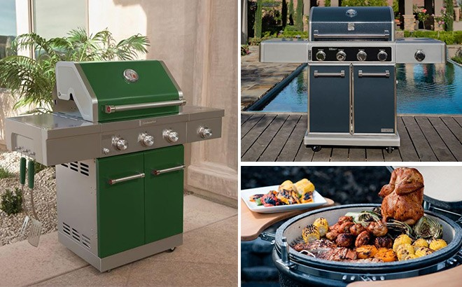 Grills Starting at JUST $103 + FREE Shipping (Today Only) - Royal Gourmet, KitchenAid!