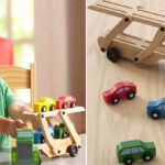 Melissa-Doug-Truck-Cars-Carrier-Wooden-Toy-Set-1