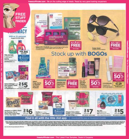 *HOT* Rite Aid Ad Preview (Week 8/23 – 8/29)