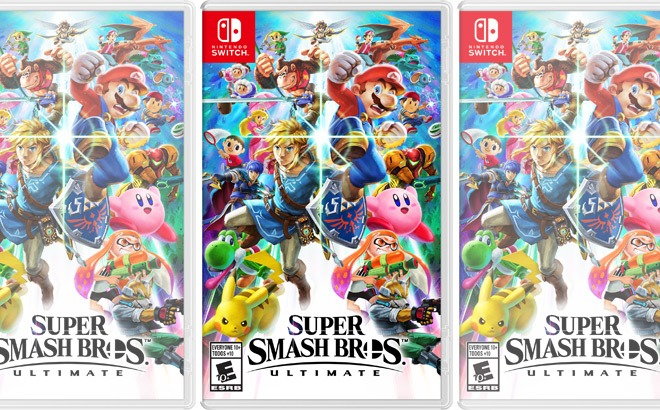 Super Smash Bros Ultimate for Nintendo Switch ONLY $49 at Amazon + FREE Shipping