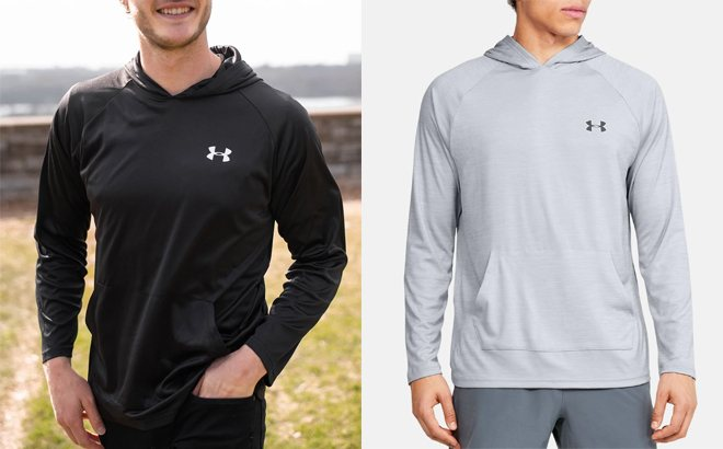 Under Armour Men's UA Velocity Hoodie JUST $14.99 Each (Regularly $40)
