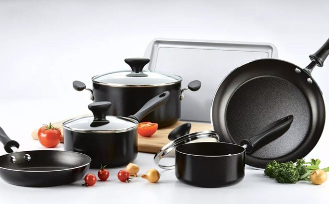 Faberware Reliance 15-Piece Cookware Set ONLY $39.99 + FREE Shipping (Regularly $60)