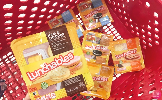 Oscar Mayer Lunchables JUST 50¢ Each at Target (Reg $2) – Print Coupon Now!