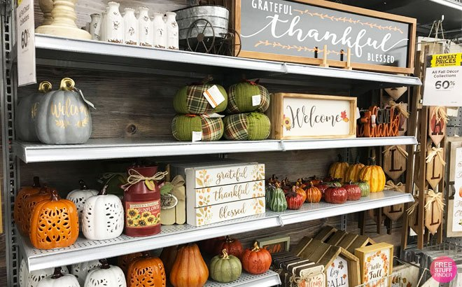 Halloween & Fall Decorations Starting From ONLY 99¢ at Michaels - Today Only!