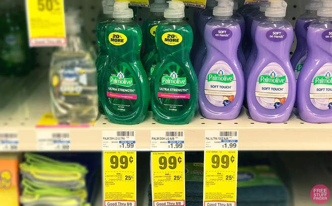 Palmolive Dish Soap ONLY 49¢ (Regularly $2)