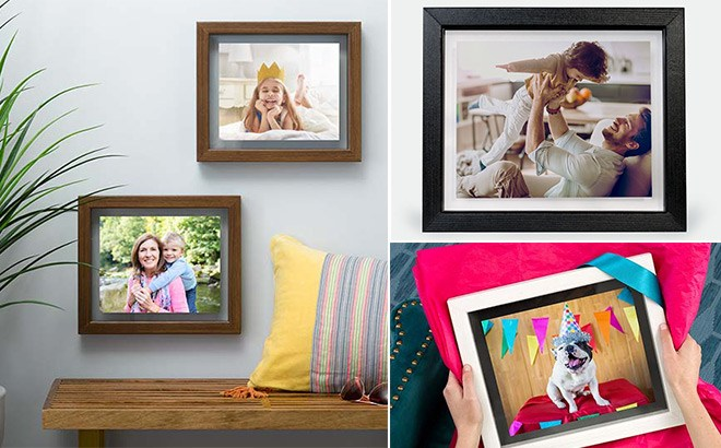 Custom Floating Frames for ONLY $20 + FREE Store Pickup at Walgreens (Reg $50)