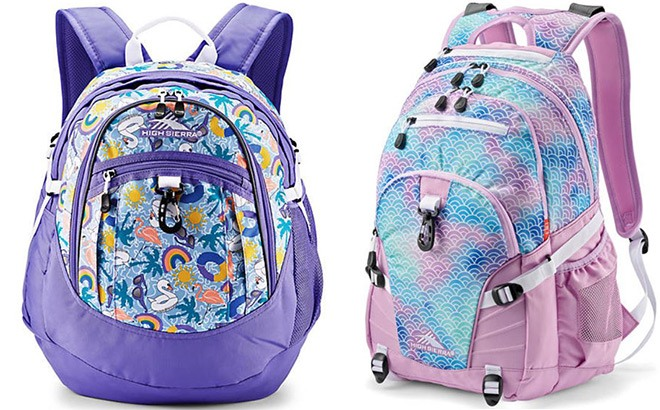 High Sierra Backpacks Starting at JUST $18 (Regularly $60) - Today Only!