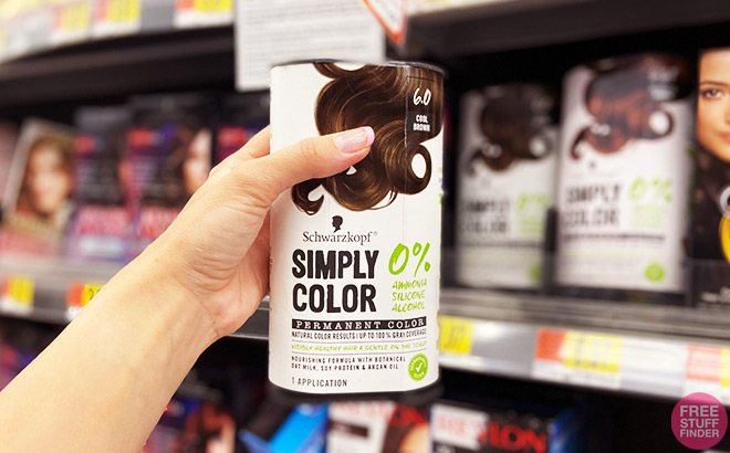 Schwarzkopf Simply Color Hair Color for ONLY $2.97 at Walmart (Regularly $10)