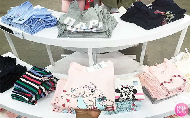 GAP Kids' Apparel Up To 85% Off - Starting From ONLY $2.49 (Many Styles!)