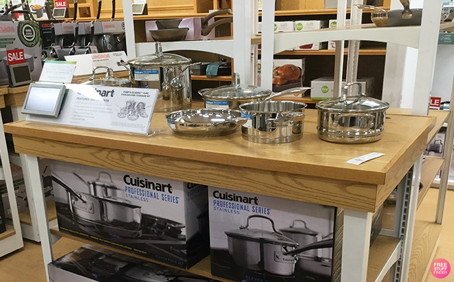Cuisinart 12-Piece Cookware Set JUST $99.99 + FREE Shipping at Best Buy - Today Only!