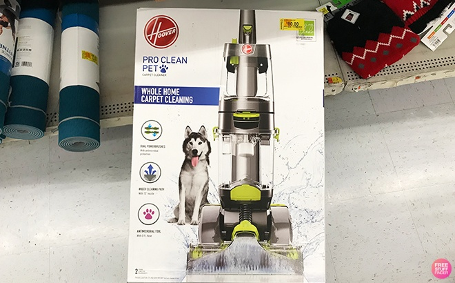 Walmart Clearance Find: Hoover Pro Clean Pet Vacuum JUST $80 (Regularly $149)