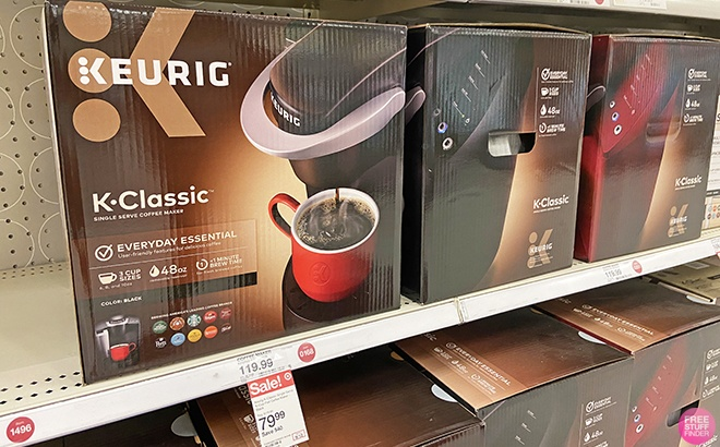 Keurig K-Classic K-Cup Pod Coffee Maker ONLY $79 + FREE Shipping (Regularly $120)