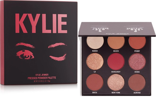 Kylie Cosmetics The Burgundy Palette Kyshadow ONLY $15 at ULTA (Regularly $42)