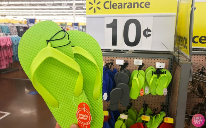 Walmart Clearance Finds: Flip Flops, Booties, and Flats Starting at ONLY 10¢!