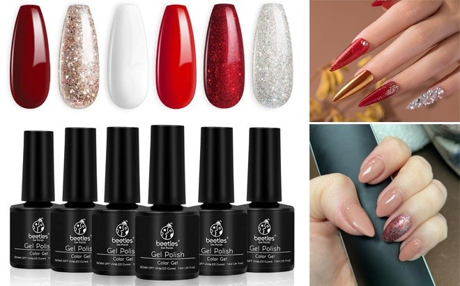 Beetles Gel Nail Polish 6 Piece Set JUST $9 at Amazon (Today Only) - Only $1.63 Each!