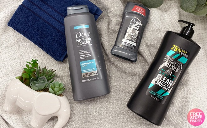 Buy 1 Get 1 50% Off Dove Men+Care, Suave Men, AXE & Degree Products at CVS