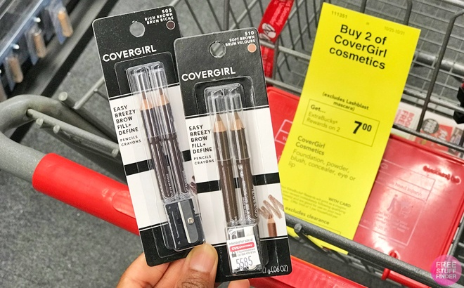 FREE TWO CoverGirl Brow Pencils + $3 Moneymaker at CVS