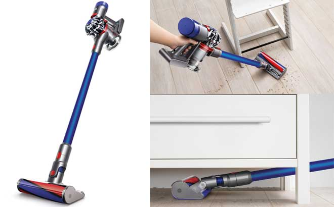 Dyson V7 Fluffy Cordless Vacuum Cleaner for ONLY $199 + FREE Shipping (Reg $330)