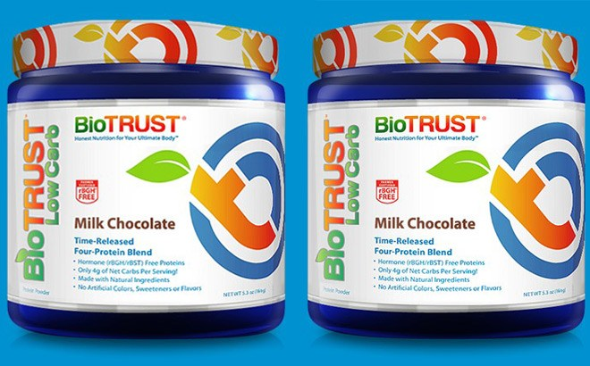FREE BioTrust Low Carb Protein Container (Pay Only Shipping!)
