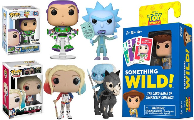 Funko POP Figures, Games & Plush Starting at JUST $4 at Amazon - Today Only!