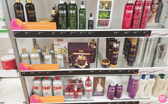 Haircare 50% Off at Ulta - Chi Products From ONLY $7 (Today Only!)