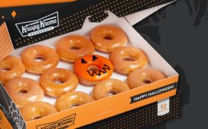 Krispy Kreme Sweet-or-Treat Dozen ONLY $1 with Dozen Purchase (Every Saturday!)