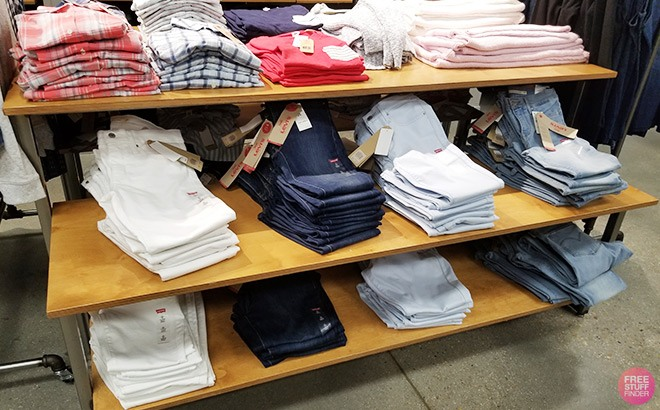 Levi's Kids' Apparel Up to 55% Off - Starting at ONLY $7.99 (Many Styles!)