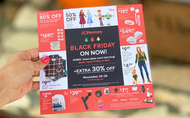 BEST JCPenney Black Friday Deals 2020