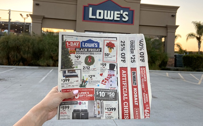 Lowe's BLACK FRIDAY Ad 2020 Posted!