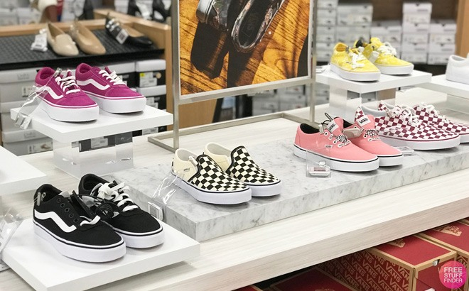VANS Women's Checkered Shoes Just $35