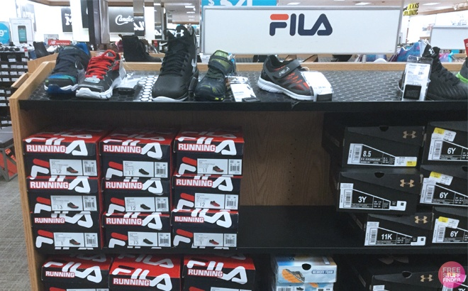 FILA Athletic Shoes for the Family JUST $21 at Kohl's - Black Friday!