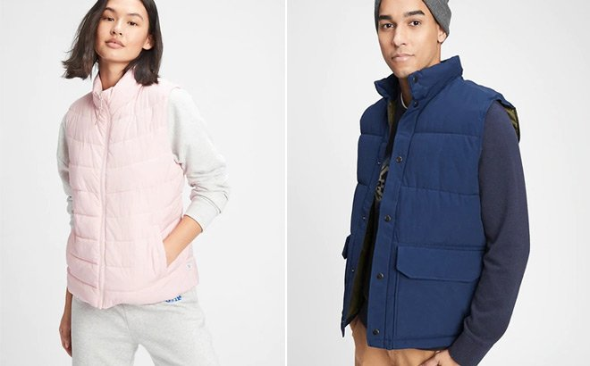 GAP Puffer Vests ONLY $13.49 (Regularly $50)