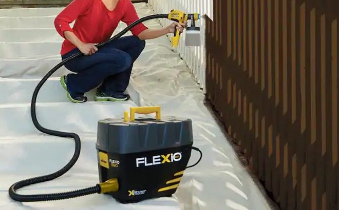 Wagner Stationary Paint Sprayer ONLY $169 + FREE Shipping at Lowe's - Today Only!