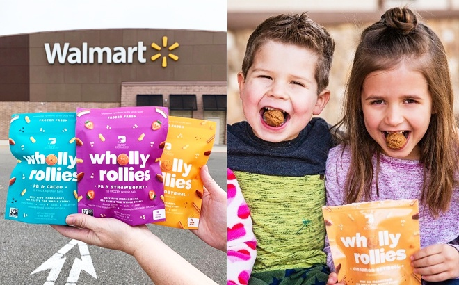 FREE Crazy Richard's Wholly Rollies at Walmart - Just Use Phone!