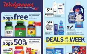 Walgreens Ad Preview (Week 1/17 – 1/23)