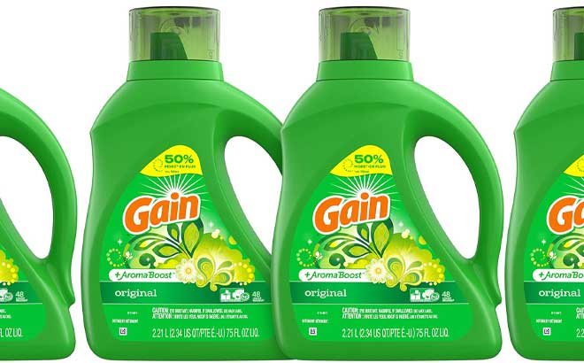 Gain Laundry Detergent 2-Pack Just $11