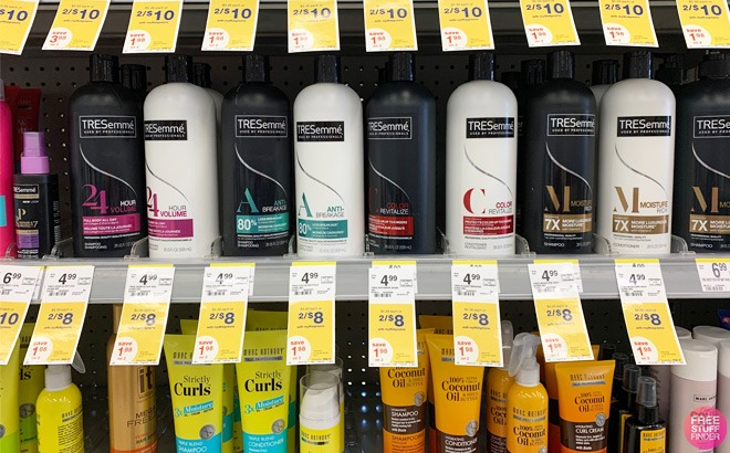 Tresemme Hair Care $1.50 Each at Walgreens